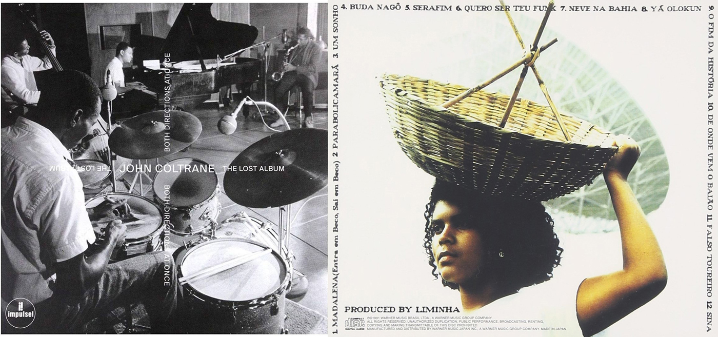 Coltrane and Gilberto Gil CDs